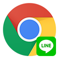 line_on_chrome