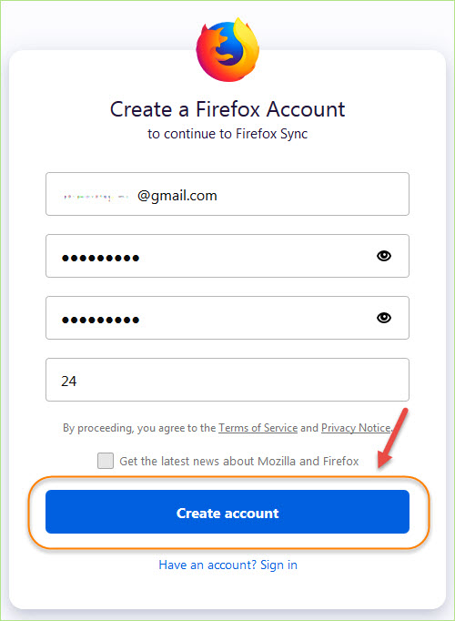 sync_firefox_account_pc_and_android2