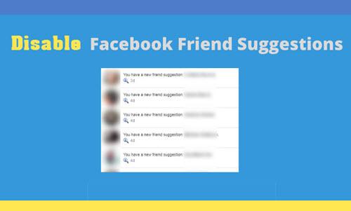 วิธีปิดการแนะนำเพื่อนใหม่บนเฟสบุ๊ค
